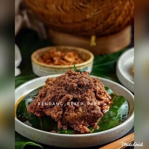 Foto Produk Rendang resep papa daging sapi halal - spicy dari dutasupply