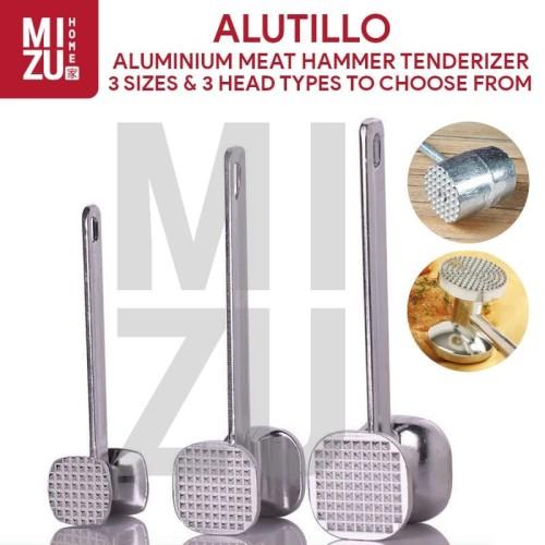 Foto Produk ALUTILLO 6 Jenis Palu Gepukan Pelunak Daging Aluminium Meat Hammer - XS SQR KOTAK dari MIZU HOME