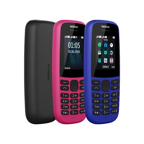 Foto Produk Nokia 105 Dual Sim 2019 Garansi Resmi - Random dari siruhu shop