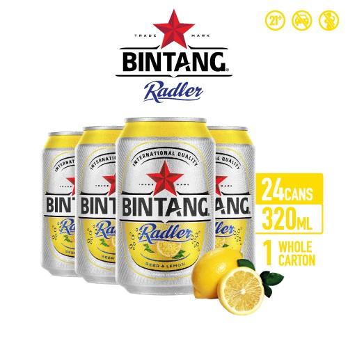 Foto Produk Bir Bintang Radler Lemon 320ml Can Multipack 24 dari Drink Corner Bekasi