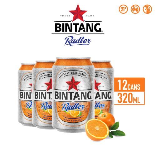 Foto Produk Bir Bintang Radler Orange 320ml Can Multipack 12 dari Drink Corner Bekasi