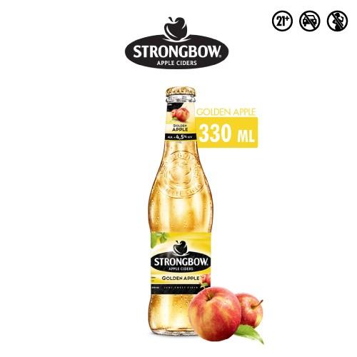 Foto Produk Strongbow Golden Apple 330ml Bottle Single dari Drink Corner Bekasi