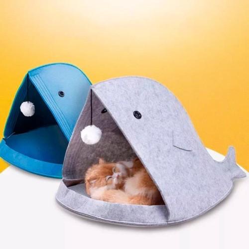 Foto Produk Tempat tidur anjing / kucing Pets bed Dog portable mudah di bawa J54 dari d'unlimited store