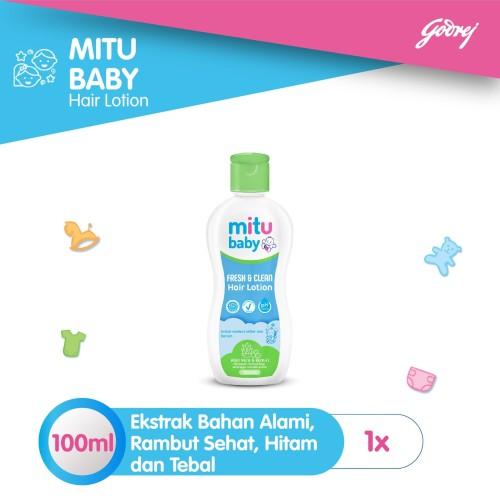 Foto Produk Mitu Baby Hair Lotion [100ml] dari Mitu Indonesia