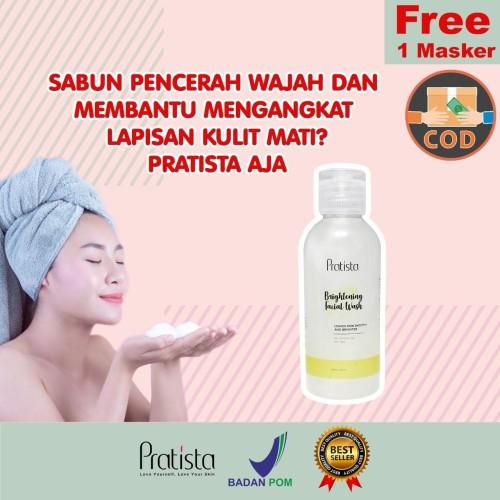 Foto Produk Sabun Pencerah Wajah Pratista : Brightening Facial Wash 60 ml dari halimah kosmetiku