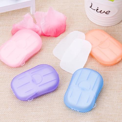 Foto Produk Hand Washing Tablet Travel Toilet Soap Paper Sabun Kotak Kertas - ACAK dari VIPBAZAAR