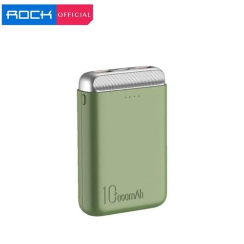 Foto Produk ROCK P71 Mini Power Bank Fast Charging 10000mAh - Orange dari ROCK Official Store