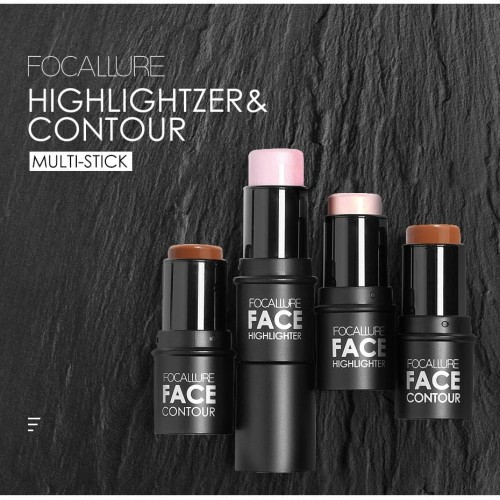 Foto Produk FOCALLURE Highlighter & Contour Multi Stick FA01 - FA01-02 dari beauty entity