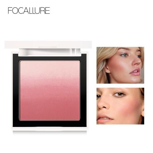 Foto Produk FOCALLURE 4 Colors Ombre Blush On Silky Cream Transparent Powder FA78 - FA78-01 dari beauty entity