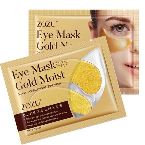 Foto Produk Zozu Eye Mask Masker Mata Kantong Mata Black Eye Mata Panda Collagen G dari Bursa Cosmetik Murah
