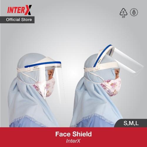 Foto Produk InterX Face Shield Pelindung Wajah - S dari InterX Official Store