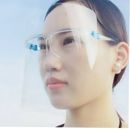 Foto Produk Face Shield / Pelindung muka dengan frame kacamata dari toko pemuda272