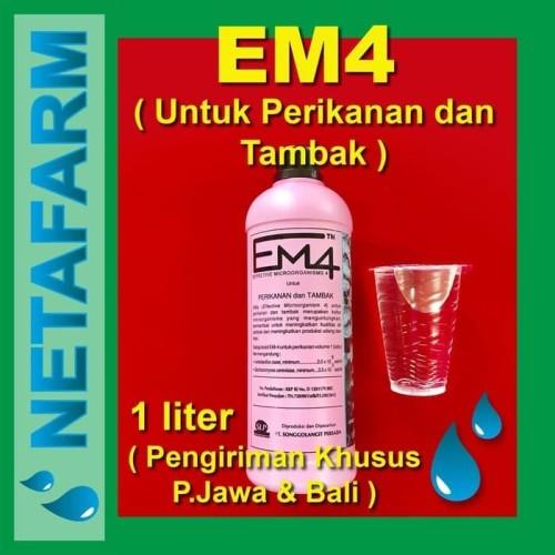 Foto Produk EM4 Perikanan dan Tambak 1 Liter dari Netafarm Surabaya