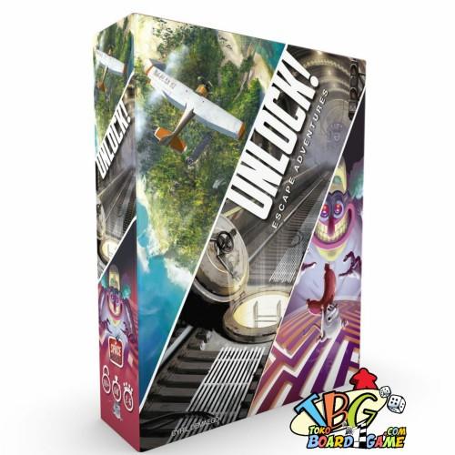 Foto Produk Unlock Escape Adventures ( Original ) Board Game dari Toko Board Game