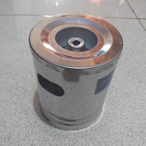 Foto Produk Asbak Mini / Asbak Stainless / Tong Sampah Mini - Tinggi 10 CM dari Citeureup Industries
