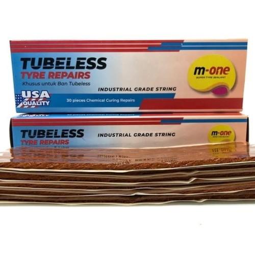 Foto Produk Karet Tambal Cacing Tubeless Made USA M-ONE dari M-One Official Store
