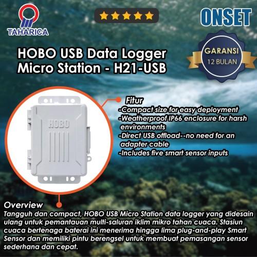 Foto Produk HOBO Station Data Logger USB Micro ( H21-USB ) dari Raya Stock