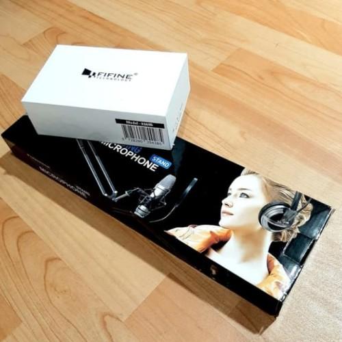 Foto Produk paket fifine k669B + arm stand dari AngelGH_Store