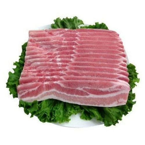 Foto Produk samcan/pork belly slice (samgyeopsal korean bbq) dari PASAR DAGING SEGAR