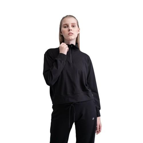 Foto Produk Baju Olahraga Panjang, Fitflo Activewear, Briana Sweater Hitam - S dari Fitflo activewear