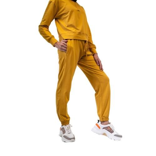 Foto Produk Celana Olahraga, Fitflo Activewear, Tencel, Ava Jogger Mustard - M dari Fitflo activewear