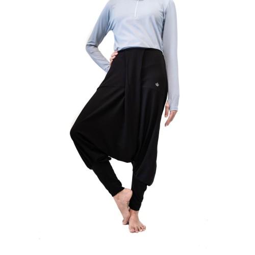 Foto Produk Celana olahraga, Fitflo Activewear, Tencel, Esme Harem Pants Hitam - S dari Fitflo activewear