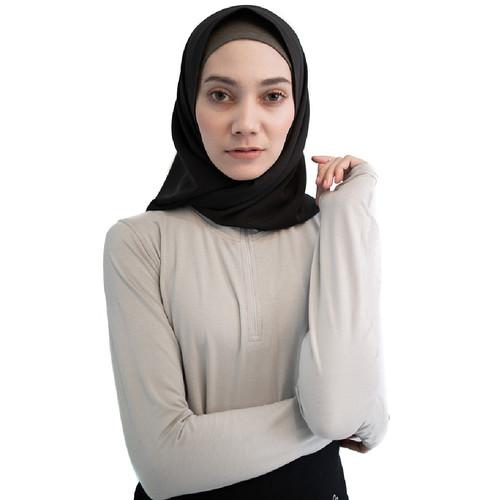 Foto Produk Baju Olahraga Panjang, Fitflo Activewear, Tencel, Amara Top Abu-Abu - S dari Fitflo activewear