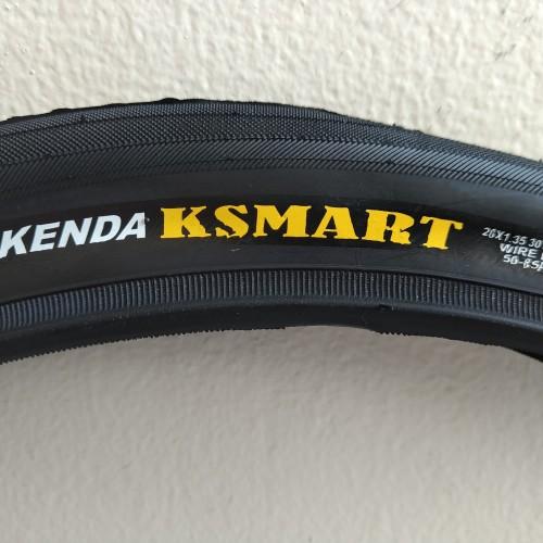 Foto Produk Ban sepeda luar kenda uk. 20 x 1.35 / 20x1.35 ksmart dari cxshop1