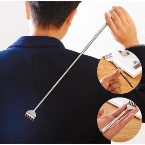 Foto Produk DAMAI FASHION -Alat garuk punggung badan gatal bisa panjang pendek dari LV.co Tanah abang