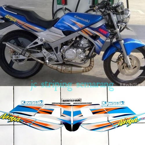 Foto Produk striping ninja r kis 2004 biru dari Jc Striping Semarang