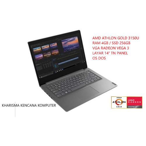 Foto Produk Lenovo V14-ADA Athlon Gold 3150U RAM 4GB SSD NVME 256GB OS DOS dari kharismakencana