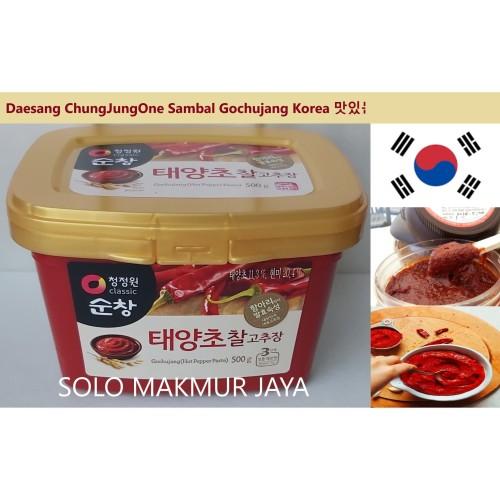 Foto Produk Daesang Sunchang Gochujang Cabe Pasta Korea Hot Pepper Paste 500 gr dari Solo Makmur Jaya