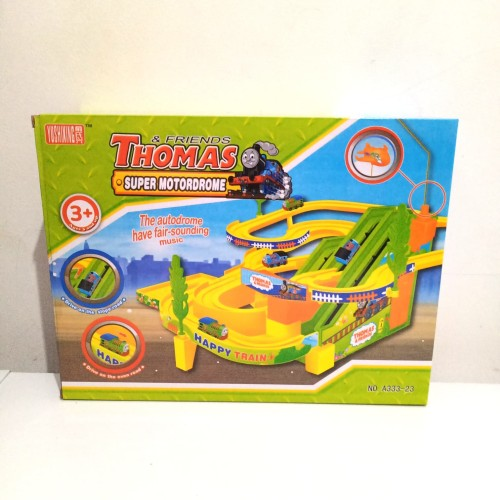 Foto Produk mainan thomas n friend / track thomas super motordrome dari OB (ORANGE BLUE) toys