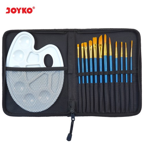 Foto Produk Art Brush Set Alat Lukis Kuas Cat Air Minyak Acrylic Joyko BRS-7 dari JOYKO Official
