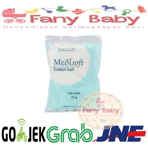 Foto Produk Medisoft Cotton Ball Kapas Bulat dari Fany Baby ITC Kuningan