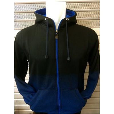 Foto Produk Jaket Zipper Gradasi Polos - Biru, M dari Hoodie Center