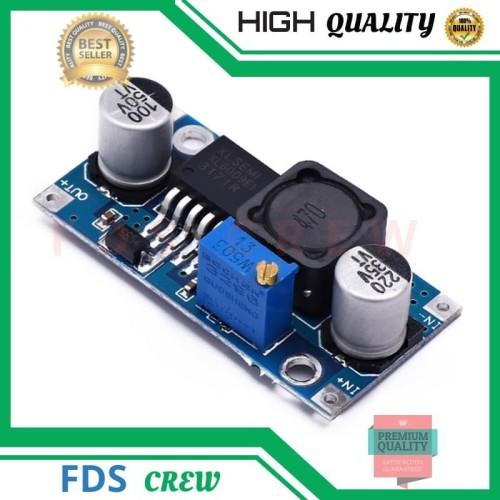 Foto Produk Modul Step Up XL6009 4 Ampere DC Adjustable Boost dari FDS crew