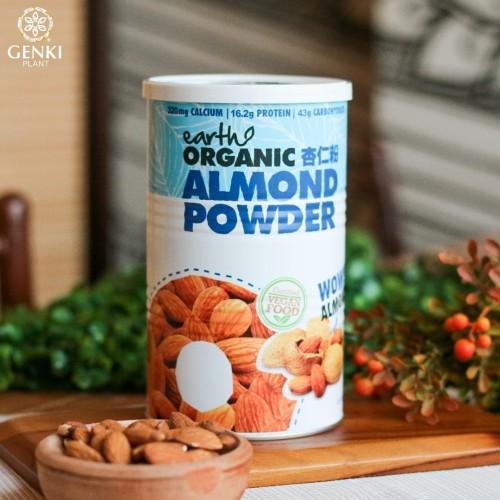 Foto Produk Organic Almond Powder (Certified Vegan Food) - 500g dari Genki Plant