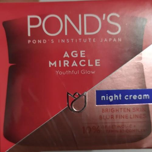 Foto Produk Ponds Age Miracle Night Cream 50gr dari Rivela Store
