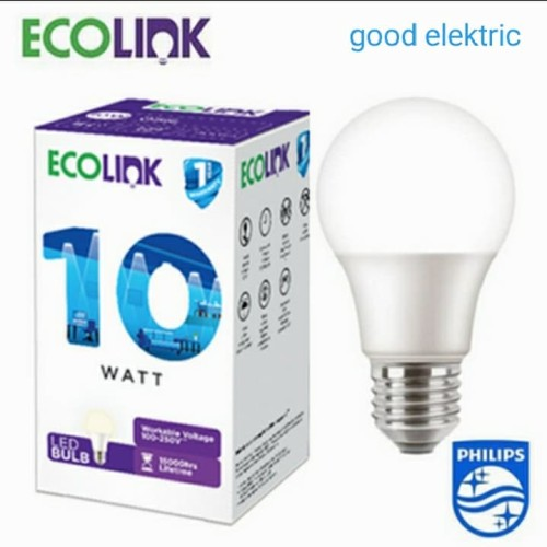 Foto Produk ecolink led bulp 10 watt cdl dari good elektric