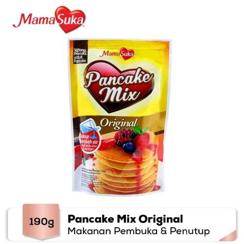 Foto Produk MamaSuka - Pancake Mix Original 190 gr dari Mamasuka Official Store