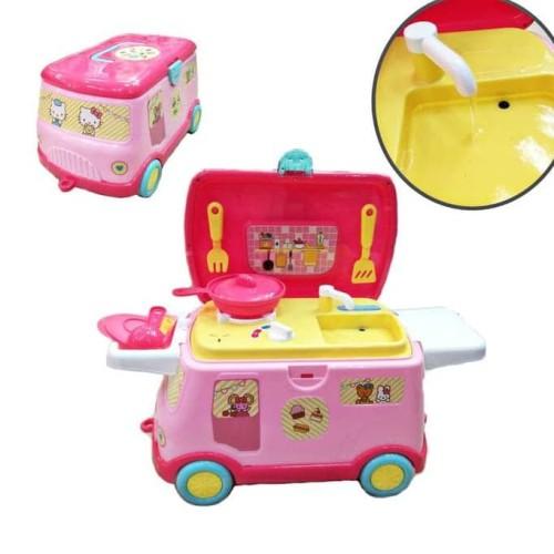 Foto Produk Promo happy kitchen mobil / mainan anak anak dapur dapuran Terjamin dari Emery_STORE89