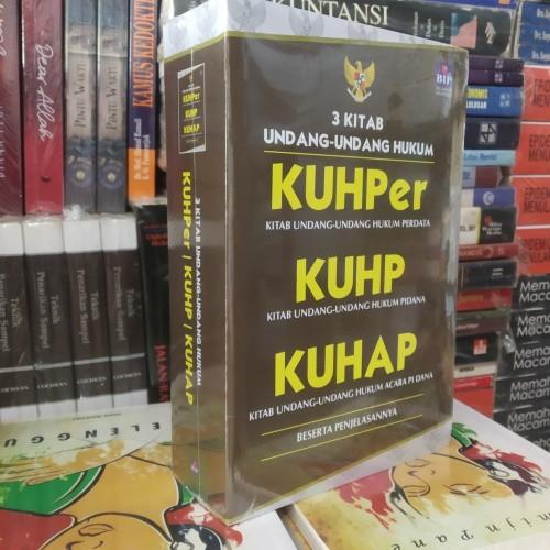 Foto Produk Buku 3 Kitab Undang Undang Hukum KUHPER KUHP dan KUHAP dari kwitangjaya27