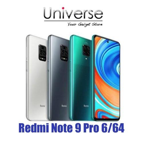 Foto Produk Xiaomi Redmi Note 9 Pro 6/64 GB - Garansi Resmi Xiaomi Indonesia - Abu-abu dari Universe Store