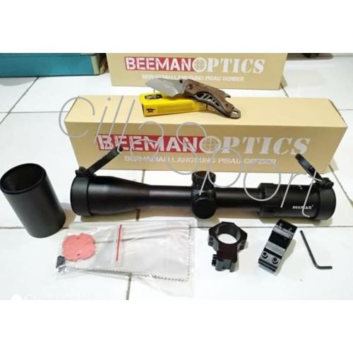 Foto Produk Telescope Beeman Optic 4-16x44 SF HK Tube 30 dari cillaSport