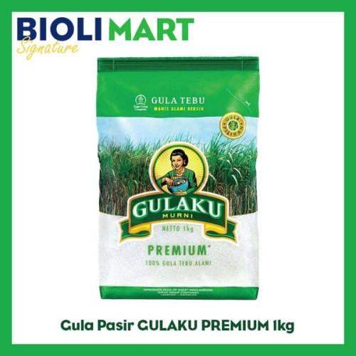 Foto Produk Gula Pasir GULAKU PREMIUM 1kg - Bioli Mart dari Bioli Signature