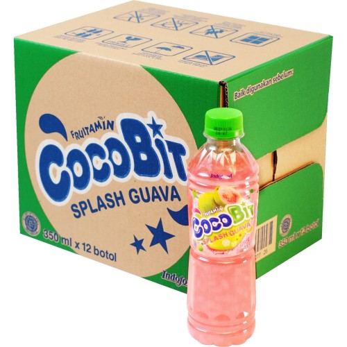 Foto Produk Fruitamin Cocobit Guava 350 ml x 12 Pcs dari Indofood Beverages
