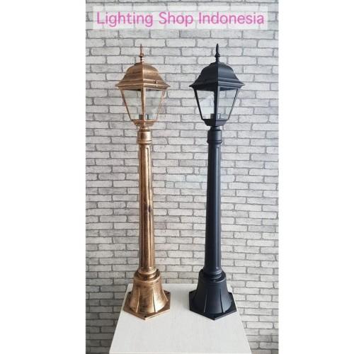 Jual Terlaris L6054 Lampu Taman Stand Berdiri Waterproof Pilar Pagar Jakarta Selatan Hendi Elektronik Tokopedia