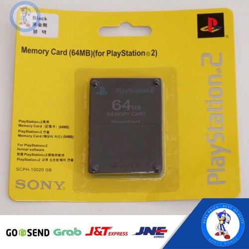 Foto Produk Memory Card PS 2 64 MB dari sonic games