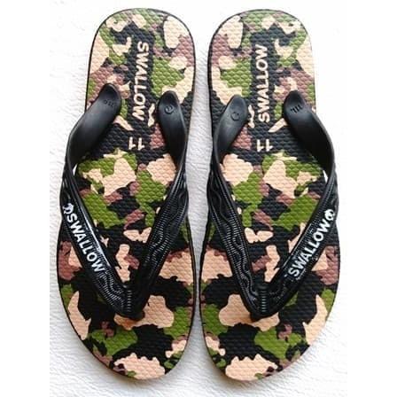 Foto Produk Sandal Swallow Dewasa Army Loreng Khusus no 11 atau 42 dari TriMedia Shop